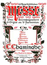 Messe Opus 167 - Cécile Chaminade - Partition - laflutedepan.com