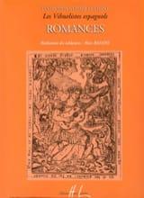 Romances des Vihuelistes Espagnols Partition laflutedepan.com