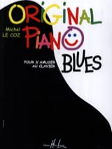 Original Piano Blues Michel LE COZ Partition Piano - laflutedepan