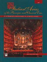 Italian Arias Of The Baroque And Classical Eras Voix Grave laflutedepan.com