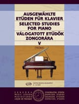 Etudes Vol 5. Teoke Partition Piano - laflutedepan.com