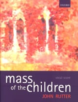 Mass Of The Children RUTTER Partition Chœur - laflutedepan