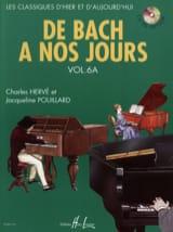 de Bach à nos Jours - Volume 6A DE BACH A NOS JOURS laflutedepan.com