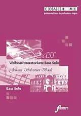 BACH - Weihnachtsoratorium BWV 248. Basse. CD - Partition - di-arezzo.fr