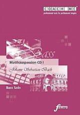 BACH - Matthauspassion. Basse. 3 CD - Partition - di-arezzo.fr