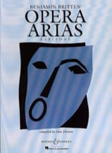 Benjamin Britten - Opera Arias Baryton - Partition - di-arezzo.fr