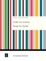 Lieder Zur Gitarre Partition Guitare - laflutedepan.com