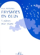 Bruno Rossignol - Paysages En Coin - Partition - di-arezzo.fr