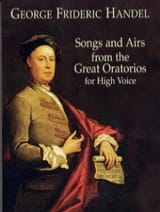 Songs And Airs From The Great Oratorios. Voix Haute. laflutedepan.com