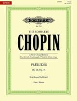 Préludes Opus 28 et 45. CHOPIN Partition Piano - laflutedepan.com