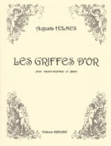 Les Griffes D'or Augusta Holmès Partition Mélodies - laflutedepan