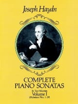 Complete Piano Sonatas Volume 1 HAYDN Partition laflutedepan.com
