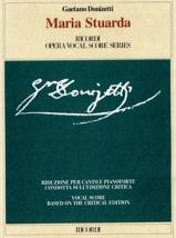 Gaetano Donizetti - Maria Stuarda - Sheet Music - di-arezzo.com