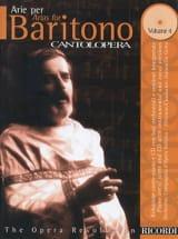 Arie Per Baritono Volume 4 - Partition - Opéras - laflutedepan.com