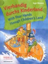 Vierhandig Durchs Kinderland. 4 Mains Ingo Braun laflutedepan.com