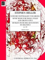 Stephen Heller - Notenbuch Fur Klein Und Gross Op. 138 Volume 1 - Sheet Music - di-arezzo.co.uk