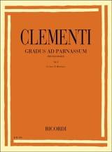 Gradus Ad Parnassum Volume 1 Muzio Clementi Partition laflutedepan.com