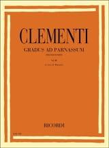Gradus Ad Parnassum Volume 3 Muzio Clementi Partition laflutedepan.com