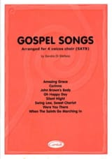 Gospel Songs Partition Chœur - laflutedepan.com