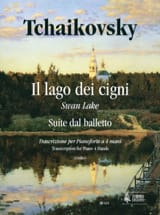 Le Lac des Cygnes. 4 Mains TCHAIKOWSKY Partition laflutedepan.com