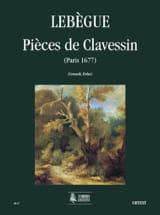 Pièces de Clavessin Nicolas Antoine Lebègue Partition laflutedepan.com