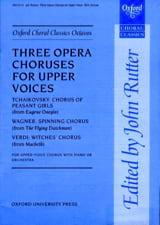 - 3 Opera Choruses - Partition - di-arezzo.fr