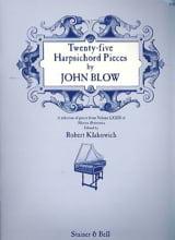 25 Harpsichord Pieces John Blow Partition Clavecin - laflutedepan.com