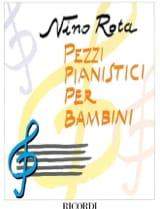 Pezzi Pianistici Per Bambini Nino Rota Partition laflutedepan.com
