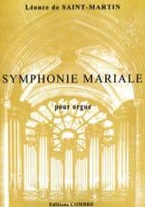 Léonce de Saint-Martin - Symphonie Mariale - Partition - di-arezzo.fr
