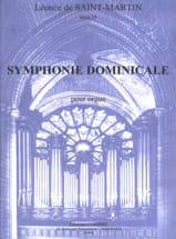 Léonce de Saint-Martin - Symphonie Dominicale Opus 39 - Partition - di-arezzo.fr