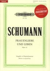 Robert Schumann - Frauenliebe Und Leben Opus 42 - Partition - di-arezzo.fr