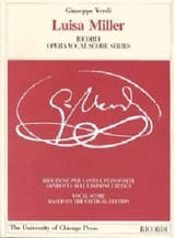 Giuseppe Verdi - Luisa Miller. Critical Edition - Sheet Music - di-arezzo.com