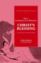 Christ's Blessing - Wright - Partition - Chœur - laflutedepan.com