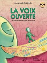 La Voix Ouverte Emmanuelle Piganiol Partition laflutedepan.com