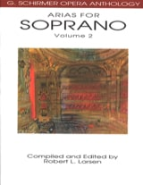 Opera Anthology: Arias Pour Soprano Volume 2 laflutedepan.com