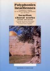 Polyphonies Israéliennes Partition Chœur - laflutedepan.com