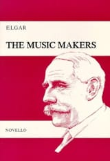 The Music Makers Opus 69 Edward Elgar Partition laflutedepan.com