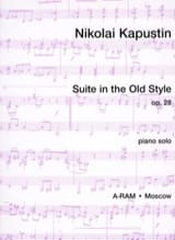 Suite In The Old Style Op. 28 Nicolai Kapustin laflutedepan.com