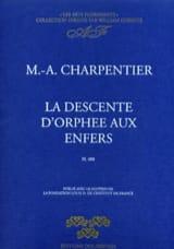 Marc-Antoine Charpentier - La Descente d'Orphée Aux Enfers H 488 - Partition - di-arezzo.fr