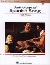 Anthology Of Spanish Song. Voix Haute Partition laflutedepan.com