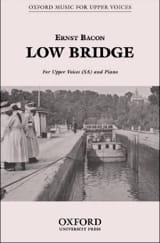 Low Bridge Ernst Bacon Partition Chœur - laflutedepan.com
