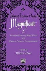 Magnificat - Johann Christian Bach - Partition - laflutedepan.com