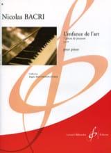 L'enfance de L'art Op. 69 Nicolas Bacri Partition laflutedepan.com