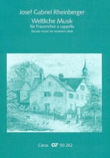 Weltliche Musik Fur Frauenchor A Cappella laflutedepan.com