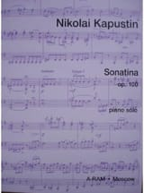 Sonatina Opus 100 - Nikolai Kapustin - Partition - laflutedepan.com