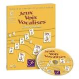 Jeux, Voix, Vocalises Volume 3 Genetay Livre laflutedepan.com