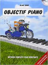 Objectif Piano Aline SANS Partition Piano - laflutedepan.com