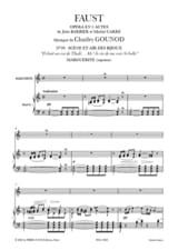 Charles Gounod - Ballad and Air Jewelry. Faust - Sheet Music - di-arezzo.co.uk