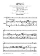 Jules Massenet - Farewell, Our Little Table. Manon - Sheet Music - di-arezzo.co.uk