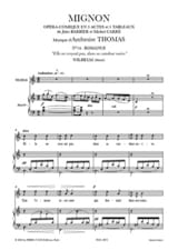 Ambroise Thomas - She did not believe, in her naive candor. Cute - Sheet Music - di-arezzo.com